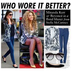 Who Wore It Better Miranda Kerr or Beyonc