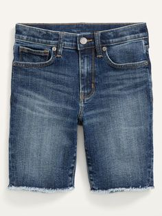 Karate Built-In Flex Cut-Off Jean Shorts for Boys | Old Navy Summer Family Portraits, Old Navy Kids, Cut Off Jeans, Shop Old Navy, Karate, Stretch Denim, Jean Shorts, Perfect Fit