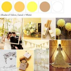 {Milk + Honey}: A Palette of Shades of Yellow + White