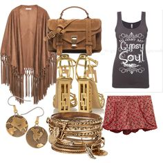 sister dre by siarai on Polyvore featuring polyvore fashion style Gypsy Soul MANGO Wet Seal Charlotte Olympia Proenza Schouler ALDO