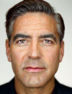 Georges Clooney, Close Up by Martin Schoeller