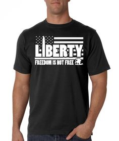 Pro Liberty Freedom Isn't Free - Black T-Shirt I Pro Gun, AR15, 2nd Amendment, 1776, Libertarian, Ron Paul, Donald Trump, AK47, Gun Rights by ProGunShirts on Etsy https://www.etsy.com/listing/490561581/pro-liberty-freedom-isnt-free-black-t