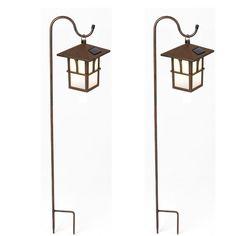Found it at Wayfair - Pagoda Hanging Solar 1 Light Pathway Light