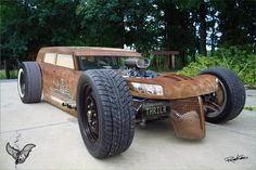 Chevy v8 rat rod. I'd drive it when not on my motorcycle.
