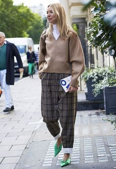 The best street style looks from September 2017's London Fashion Week.