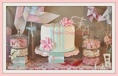 Candy Table for Bella's 2nd B'day by Farghaly Design Australia - events and photography CAKE by Sweetness Contained