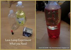 Running away? I'll help you pack.: Lava Lamp Experiment