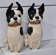 Severina Kids Hand knitted Boston Terrier