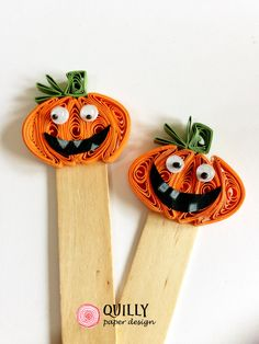 Trick or treat! Segnaposto Zucca, Pumpkin Placeholder by QuillyPaperDesign