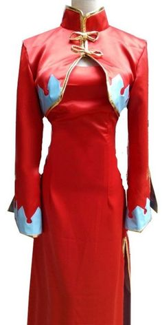 CosEnter Anime Code Geass C.C Red Cosplay Costume -- You can find out more details at the link of the image.
