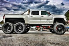 Intriguing GMC Truck Setups that will Blow your Mind Jeep Truck, 4x4 Trucks, Diesel Trucks, Lifted Trucks, Chevy Trucks, Jeep Jeep, Tundra Truck, Lifted Tundra, Ford Jokes