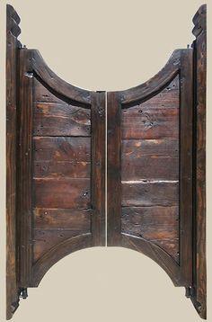 Saloon Doors by La Puerta Originals | see more: www.lapuertaoriginals.com