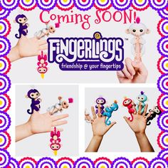 COMING SOON to @southerncottage_greendoor ...With @fingerlings  fun is always close at hand. Literally! These baby monkeys cling to your fingers and go where you go. They react to sound motion and touch make fun little monkey noises and move in ways that will make you squeal with delight. Friendship really is at your fingertips!  #downtownvicksburg #trending #fingerlings #fingerlingsmonkey #upturnsocial