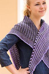 Ravelry: Slip Sliding Away pattern by Jennifer Dassau