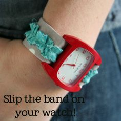 fabric watch bands