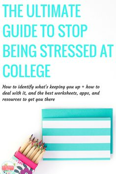 College is an incredibly stressful time. Between hard classes and homework out the wazoo, friends, relationships, and more- it's incredibly overwhelming! And what happens if you have depression or anxiety? Here's how to handle all of that, in only 7 days. With free resources, worksheets, and more! You'll be stress free in no-time.