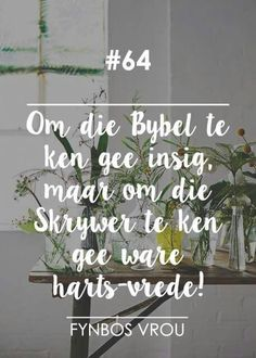 Discover recipes, home ideas, style inspiration and other ideas to try. Bible Quotes, Bible Verses, Qoutes, Christian Devotions, Christian Quotes, Worship Quotes, Afrikaanse Quotes, Bible Truth, Wallpaper Pictures