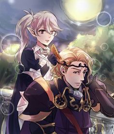 Fire Emblem: If/Fates - Kamui and Marx