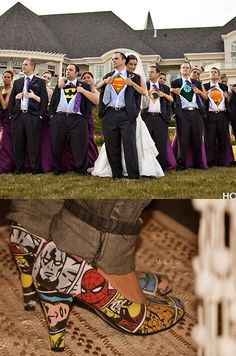 comic book wedding ideas - Google Search