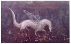 Hunting Ermine by  Leonora Carrington