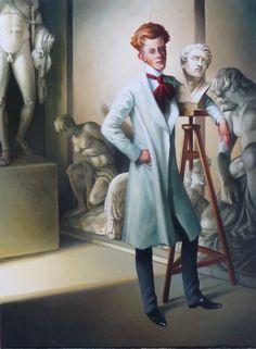 """Thierry Bruet   """"Le Dandy Sculpteur"""""""