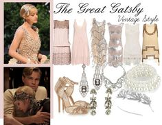 My Great Gatsby-Themed Outfit by hannamusk featuring talullah tu The Great Gatsby, Great Gatsby Fashion, Great Gatsby Party, 20s Fashion, Gatsby Outfit, Gatsby Dress, Gatsby Look, Gatsby Style, Scott Fitzgerald