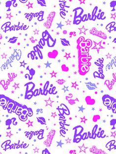 Find images and videos about wallpaper, barbie and lovery on We Heart It - the app to get lost in what you love. Barbie Birthday, Barbie Party, Barbie I, Barbie World, Soft Wallpaper, Chevron Wallpaper, Wallpaper Backgrounds, Pattern Wallpaper, Barbie Painting