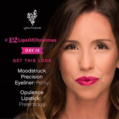 #12LipsOfChristmas Day 12! Whitney from Younique Compliance has the fun pink pair of Perky & Pretentious  Thanks to everyone who shared their gorgeous lip looksabout 45000 #12LipsOfChristmas pics have been posted so far!