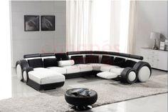 Grand canapé d'angle cuir IMPERIA RELAX XXL