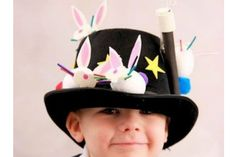 Struggling for Easter bonnet ideas for boys? We've got 25 brilliant bonnet ideas for you to make, featuring everything from dinosaurs to Batman. Boys Easter Hat, Easter Bonnets For Boys, Easter Hat Parade, Easter Bunny, Crazy Hat Day, Crazy Hats, Easter Crafts For Kids, Easter Ideas, Easter Stuff