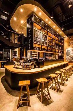 官舍店星巴克,喝出臻选情致. ThekenRestaurant Und Bar DesignCafé ...