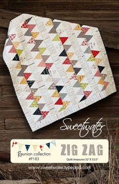 another sweetwater quilt that has me giddy...i love every fabric and quilt these guys make...