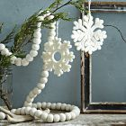 white felt garland (west elm)