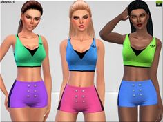 Sims 3 Addictions: Sims 4 Fit N Fine by Margies Sims • Sims 4 Downloads