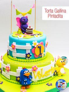 Torta Gallina Pintadita - Gallina Pintadita cake