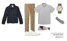 Five Ways To Wear One Denim Jacket: 5. Summer-Ready