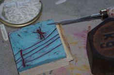 Gummi3 Stamps, Printing