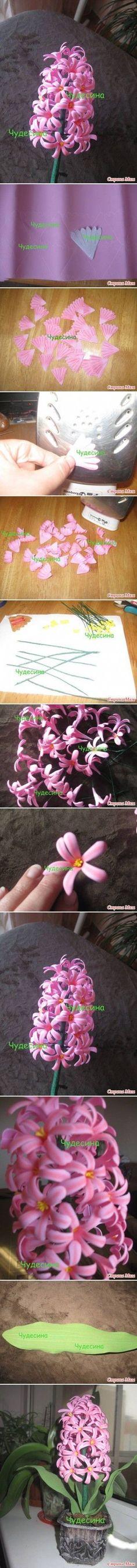 DIY Hyacinth Flower DIY Projects