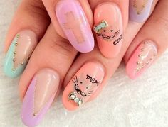 Cool Nail Designs, Nail Care Tips. Everything you want to know about proper nail care.