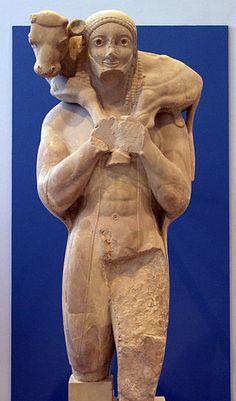 ACMA Moschophoros - Moschoforos – Wikipedia, wolna encyklopedia