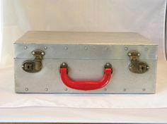 Vintage Metal Roller Skate Case from PassedBy $24