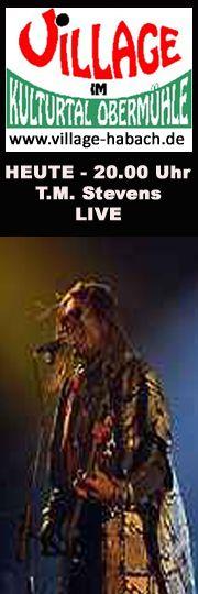Sonderkonzert am Sonntag den 13. Mai TM Stevens (USA)  TM Stevens Fähigkeiten als Bassist und Sänger sind weltweit legendär. Er ist eine Lichtgestalt unter den heutigen Bassisten, hat unglaubliche Energie, umwerfende Bühnenpräsenz! Sein wilder, dennoch melodischer Bass-Stil ist einzigartig! Er war unter anderem Studiomusiker bei James Brown, Joe Cocker, Tina Turner, Billy Joel. Dem breiten Publikum ist er am ehesten durch sein Bass-Riff zu Beginn des Songs Unchain my Heart (Joe Cocker)…