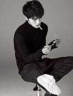 Jae Joong - Harper's Bazaar Magazine February Issue '15