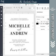 You can easily edit our event stationery templates by yourself. Click to see our huge variety of event templates. Diy Wedding Stationery, Printable Wedding Invitations, Wedding Invitation Suite, Party Printables, Free Printables, Event Template, Stationery Templates, Save The Date Cards, Wedding Signs