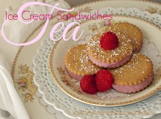 Vintage China shows off tempting treats for a Valentinte Tea Party ~ Mary Walds Vintage Place - A Little Loveliness: Ice Cream Tea Sandwiches Cream Tea, Ice Cream, Tea Party Menu, Tea Etiquette, Tea For One, Pub Food, Tea Sandwiches, High Tea, Afternoon Tea