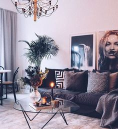 Novel Small Living Room Design and Decor Ideas that Aren't Cramped - Di Home Design Home Living Room, Living Room Designs, Living Room Decor, Living Room Inspiration, Home Decor Inspiration, Decor Ideas, Room Interior, Home Interior Design, Interior Modern