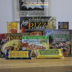 Need something quick and healthy to eat? Check out our great selection of Amy's Kitchen-GO ORGANIC! foods.