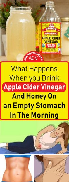 What Happens When you Drink Apple Cider Vinegar And Honey On An Empty Stomach In The Morning #health #Beauty #beautyblogger #fitness