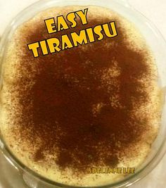 Easy Tiramisu - Lovefoodies hanging out! Tease your taste buds!