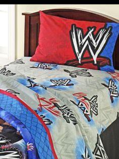 WWE · Wwe BedroomBoy BedroomsComforterWrestlingBlanketsBedroom IdeasLucha  ...